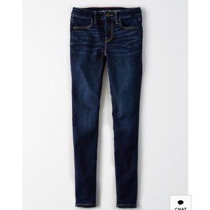 AEO American Eagle dark wash skinny jegging jeans